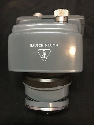 Bausch & Lomb Laboratory Adjustable Microscope Head Unit W/ Turret ~NICE