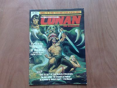 Savage Sword Of Conan The Barbarian #44 Uk Marvel Monthly June 1981 Fine Cond