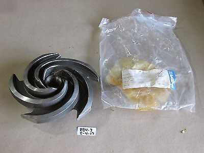 +New Goulds C00774B00 Pump Impeller 1X1.5-8  7.5 Dia  Cw7M