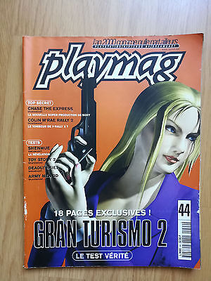Magazine Jeux Video Playmag N°44  2000 Playstation Nintendo Grand Turismo Revue