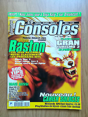 Magazine Jeux Video Cd Consoles 1999 N°49 Playstation N64 Street Fighter Baston