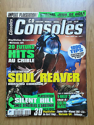 Magazine Jeux Video Cd Consoles 1999 N°54 Playstation N64 Soul Reaver Hill Gta
