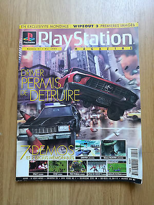 Magazine Jeux Video Playstation Ps1 N°31 Playstation Sony Mai 1999 Driver Game