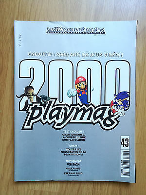 Magazine Jeux Video Playmag 2000 N°43 Playstation Nintendo Dreamcast Special