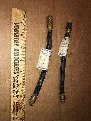 LOT (2) 1949-54 Kaiser-Fraser Gas Line #11098 Copperflex Ever hot NOS