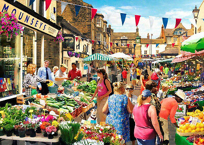 The House Of Puzzles - 1000 PIECE JIGSAW PUZZLE - Street Market