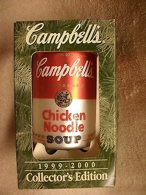 Campbell's 1999 - 2000 Collector's Edition Holiday Ornament