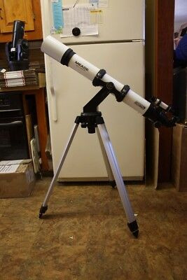 Meade 80mm Refracting Telescope Kit with ALTAZ Mount/SLO-MO Controls & Tripod