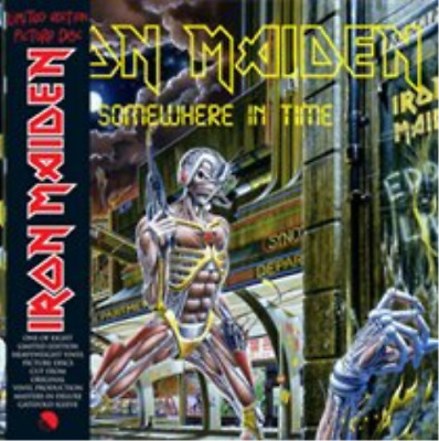 "Iron Maiden-Somewhere in Time  (UK IMPORT)  Vinyl / 12"" Album Picture Disc NEW"