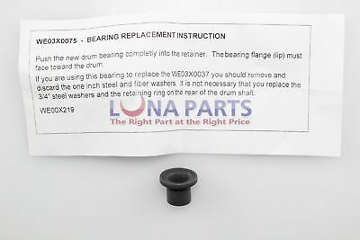 Genuine OEM GE WE3X75 GE Kenmore Dryer Rear Bearing Sleeve Bushing New! PS267865