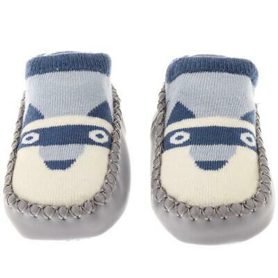 Cute Baby Girls Boys Anti-slip Socks Infant Toddler Dog Slipper Shoes Boots