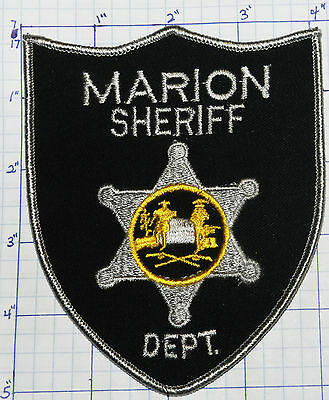 West Virginia, Marion County Sheriff Dept Patch