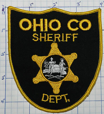 West Virginia, Ohio County Sheriff Dept Patch