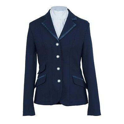 SHIRES SPRT REGENT SHOW JACKET LADIES NAVY horse riding performance wear