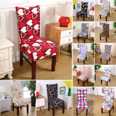 US Room Chair Cover Wedding Restaurant Dining Spandex Stretch Seat Slipcovers