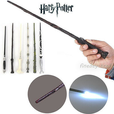 Harry Potter Cosplay Malfoy Dumbledore Voldemort Magic Wand Xmas Gifts Toys UK