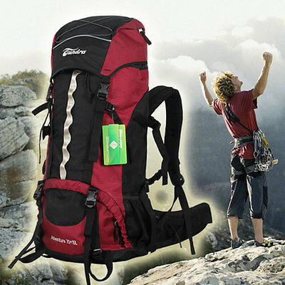 New Large Outdoor Sport Travel Waterproof Backpack Camping Mountaineering Bags