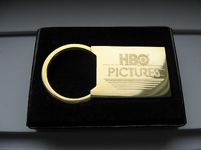 VINTAGE HBO PICTURES Collectible Keychain Keyring NEW IN BOX