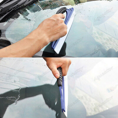 Silicone Car Window Wash Cleaning Brush Cleaner Wiper Squeegee Drying Blade Kit