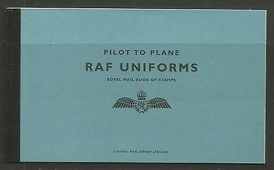 Great Britain 2008 RAF Uniforms prestige booklet (BK185) MNH