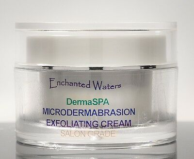 MicroDermabrasion Cream - Anti Aging Wrinkle Pores - Resurfacing Exfoliant Scrub