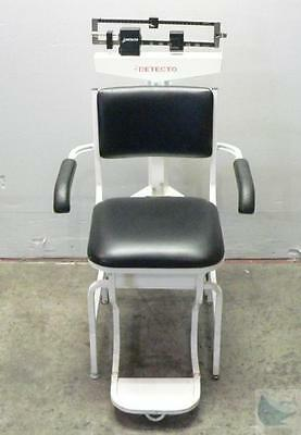 Detecto Model 475 Seated Chair Sitting Scale 350lb Capacity - TESTED & WORKING