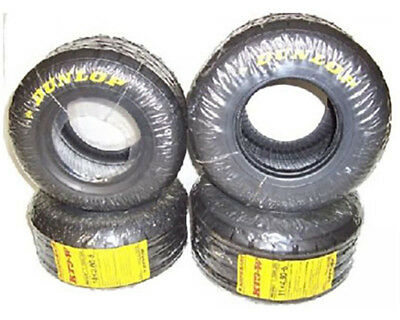 Dunlop Senior KT3 Wet Tyre Set UK KART STORE