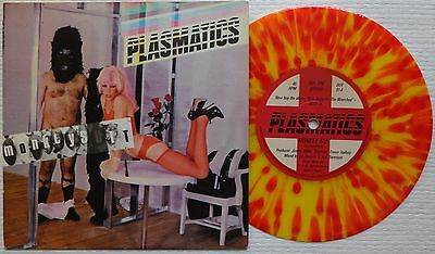 Plasmatics Monkey Suit Squirm Yellow And Red Splatter