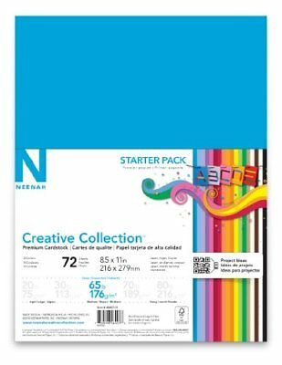 Neenah Creative Classics Specialty Cardstock Starter Kit 8.5 X 11in 72 Count
