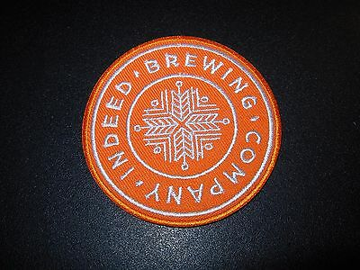 4eb8aab2 INDEED BREWING CO Day Tripper Rum King PATCH iron on craft beer brewery  brewing