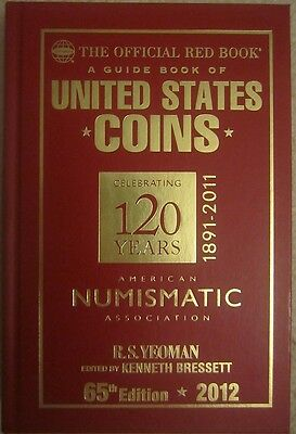 2012 Red Book-Special 120 yr ANA Anniversary edition! -Given out to $100 donors!