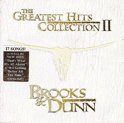 BROOKS & DUNN The Greatest Hits Collection II CD