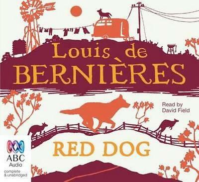 NEW Red Dog By Louis de Bernieres Audio CD Free Shipping