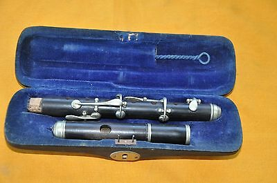 Antique Piccolo  Flute  Made In Germany  Wood