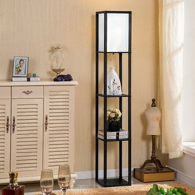 Chinese Style Floor Lamp Sitting Room Contemporary Wooden The Bedroom Vertical