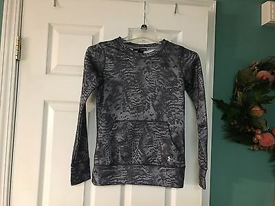 Kids Boys & Girls Under Armour LOOSE Gray Pullover Size Kids YSM Youth Small
