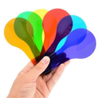 Colour Paddles ( set of 6) to Demonstrate Colour Combining Learning Resource Y