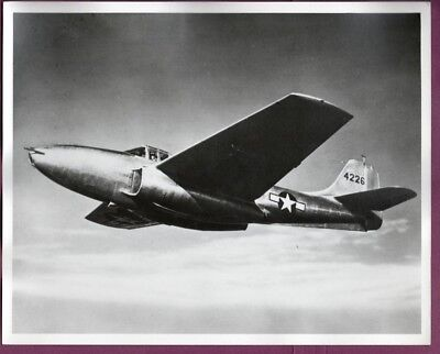 1942 USAAF Bell P-59 Airacomet Fighter 8x10 Original Photo
