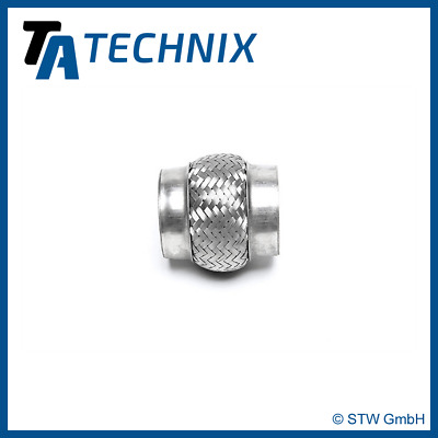"TA TECHNIX Stainless Steel Universal Flexi Pipe Piece 3 "" = 2.99in x 3 15/16in"