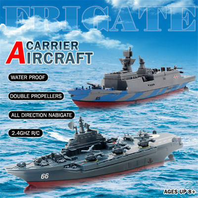 Aircraft Carrier RC Boat Warship Battleship 4 channels Remote Control Challenger