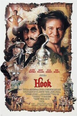 HOOK movie poster JULIA ROBERTS robin williams TINKERBELL peter pan 24X36