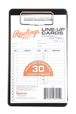 Rawlings System-17 Line-Up Case (30 cards)