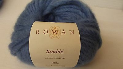 Wolle zum Stricken Rowan Tumble Fb. 566 / 500 gr ( türkis )