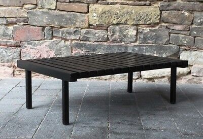 vintage SIXTIES SIDE TABLE slat table Beistelltisch  60er Jahre