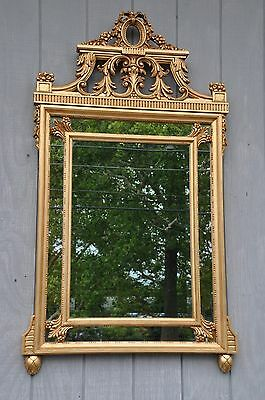 Friedman Brothers Style Decorative Beveled Mirror