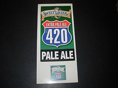 SWEETWATER BREWING COMPANY 420 PALE ALE rct STICKER SET decal craft beer brewery