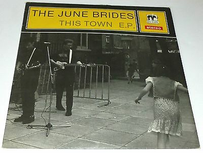 """The June Brides - This town   UK 12"""""""