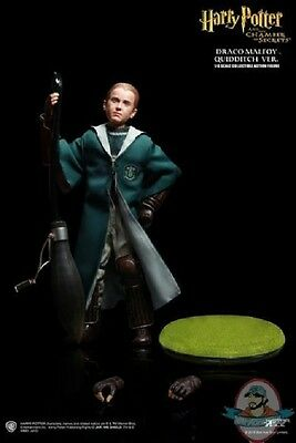 1/6 Harry Potter Chamber of Secrets Draco Malfoy Quidditch SA-0019