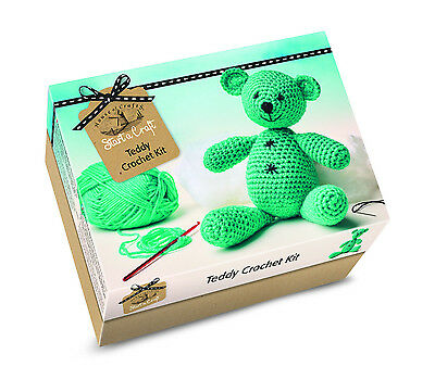 House Of Crafts - START A CRAFT KIT - Teddy Crochet Kit