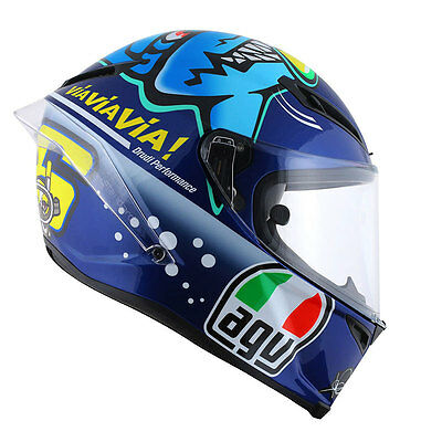 AGV Corsa Misano Shark Ltd Motorcycle Helmet Blue